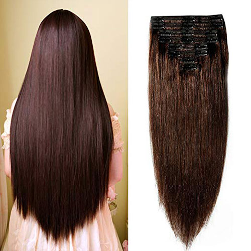 DELUXE Double weft clip on ekstenzije