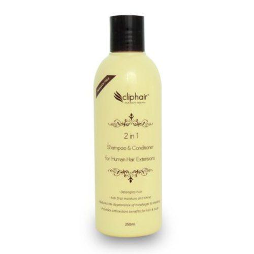 Šampon plus blazam (2 u 1) za ekstenzije iz prirodne kose